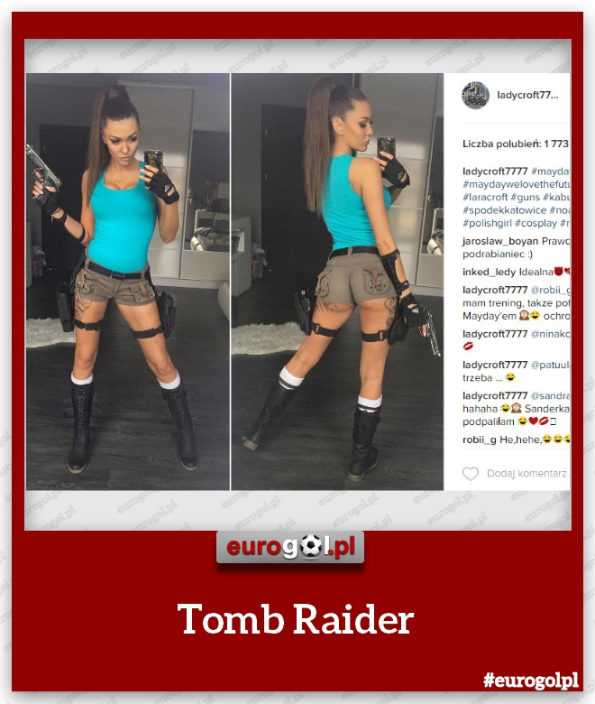 Lara Croft czy Klaudia Danch?