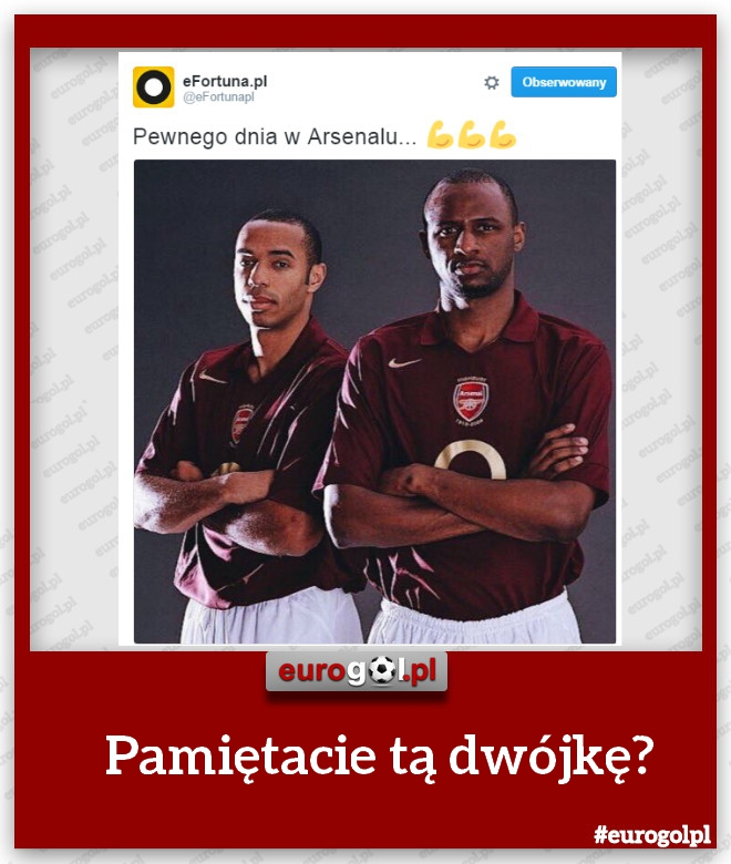 Dwie legendy Arsenalu